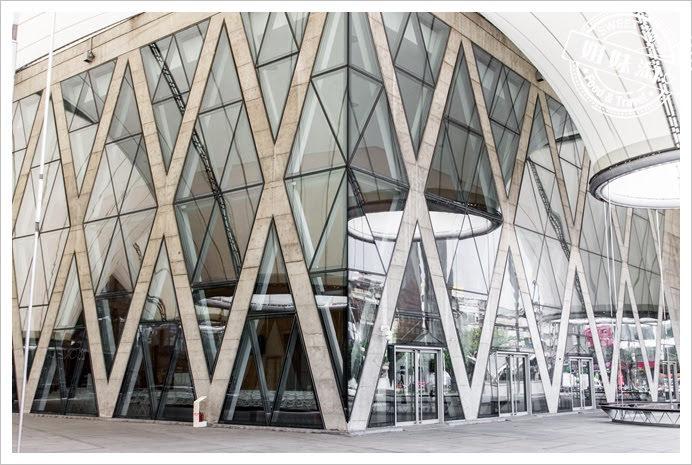 大東文化藝術中心玻璃