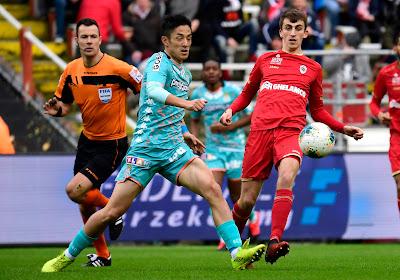Antwerp FC aast op Ryota Morioka van Sporting Charleroi
