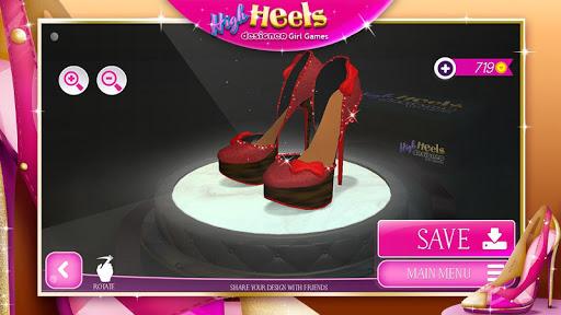 High Heels Designer Girl Games 2.1.1 Screenshots 7