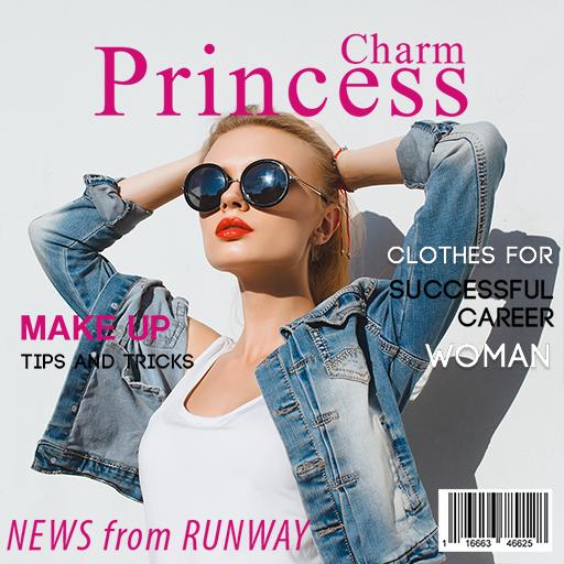 Magazine Cover: Photo Frames Icon