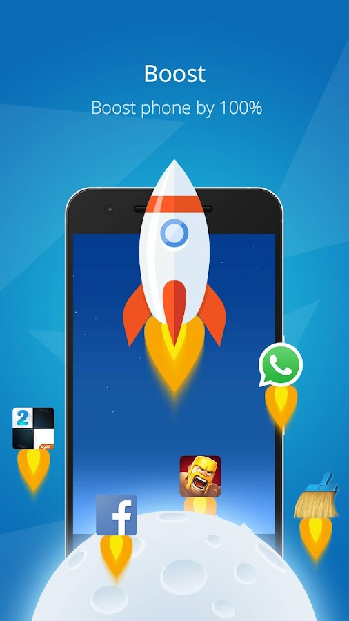 Screenshots of CM Launcher 3D - Stylish Boost for Android