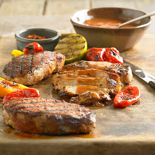 Spicy Grilled BBQ Pork Chops.