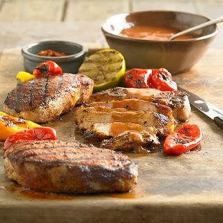 Spicy Grilled BBQ Pork Chops.