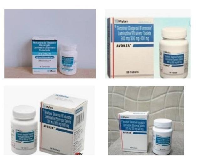 Thuốc Avonza ARV Mylan điều trị HIV: Công dụng, Liều dùng