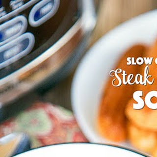 Slow Cooker Steak and Potato Soup.