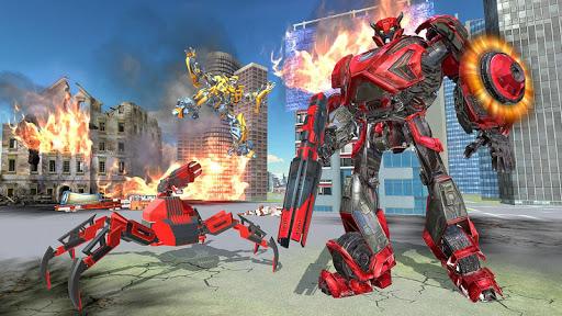 US Police Transform Iron Robot Spider Hero 1.0.3 screenshots 12