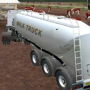 Truck Simulator : Milk for PC and MAC