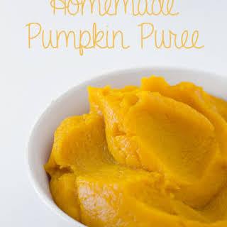 Homemade Pumpkin Puree.