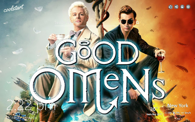 Good Omens HD Wallpapers TV Series Theme