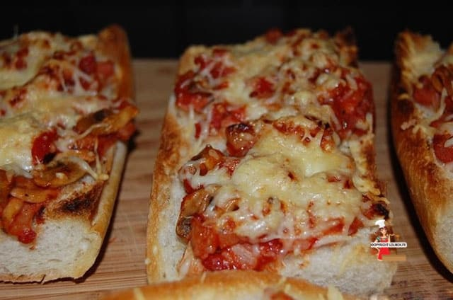 Pizza Baguettes Recipe