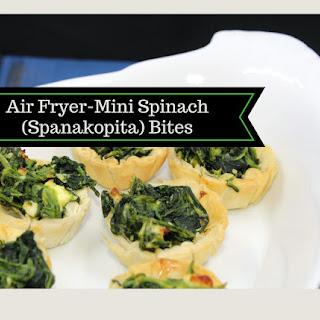 Air Fryer-Mini Spinach (Spanakopita) Bites Recipe