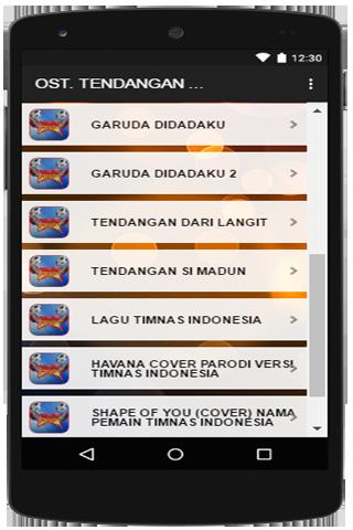Ost Film Tendangan Garuda Terbaru 1.0 screenshots 4