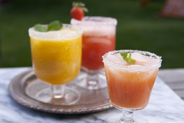 Fresh Fruit Paletas and a Tropical Margarita Bar Recipe