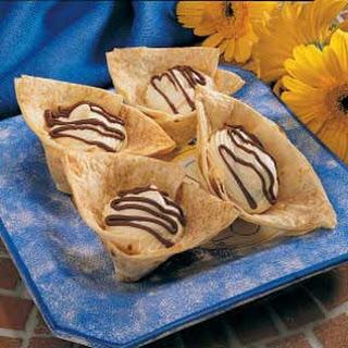Tortilla Dessert Cups.