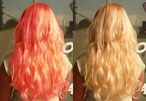 改变头发的颜色