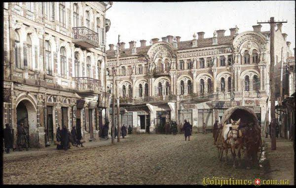 1915-1916, будинок Кронштейнів
