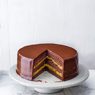 Chocolate and Passion Fruit Layer Cake Recipe