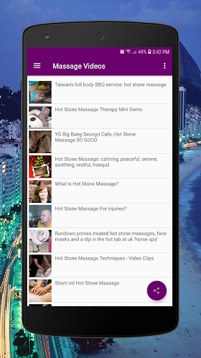Body Massage Videos - Hot Stones and Full Body 2.0 Screenshots 4