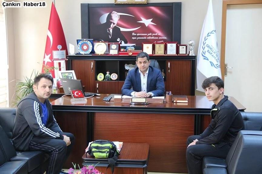 Çankırı Gençlik ve Spor İl Müdür,Ekrem Gerginci,Halter Sporcusu,Numan Berat Koçak, Çankırı'da Spor,Çankırı Spor,