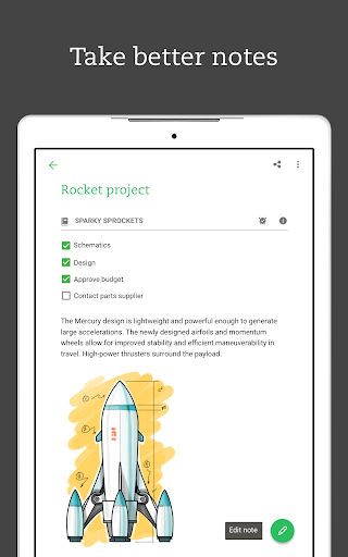 Evernote – Organizer, Planner, Notebook screenshot 14