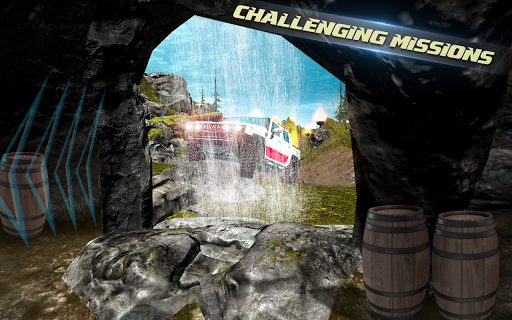 Offroad car driving:4x4 off-road rally legend game