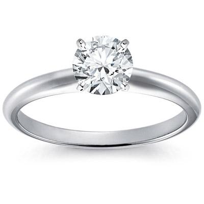 <b>кольцо с бриллиантом</b> 0 4 карата 9340