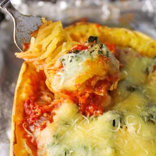 Italian Spaghetti Squash Boats