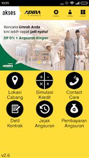 Akses Adira Finance - náhled
