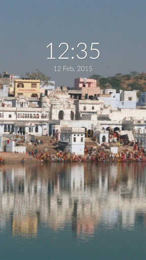 Pushkar Lake Wall Lock