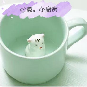3D動物杯 - 小貓 (代購)