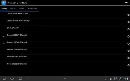 Simple MP4 Video Player- screenshot thumbnail