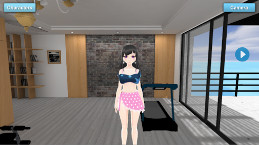 Sakune House Anime Girlfriend MMD 1.1 screenshots 1