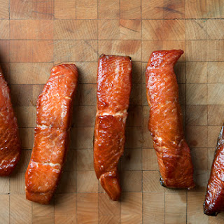 Smoked Salmon Candy.