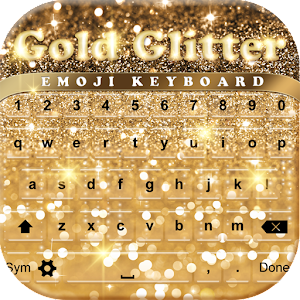 Gold Glitter Emoji Keyboard - Android Apps on Google Play