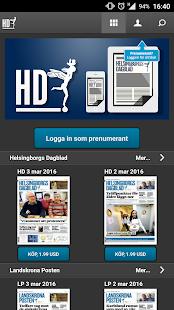 Helsingborgs Dagblad screenshot