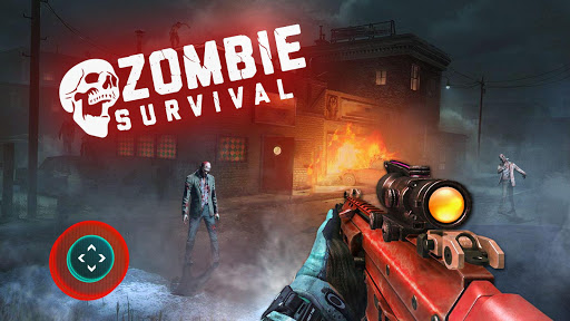 Zombie Survival: Target Zombies Shooting Game 2.0 screenshots 1