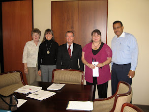 Photo: Members of Orange County for Darfur met with Congressman Ed Royce in May 2009.