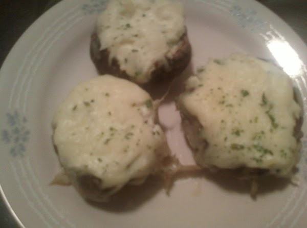 Four Cheese Portabello Mushrooms Recipe