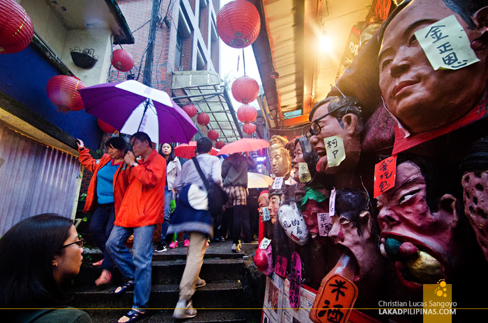 Jiufen Old Street Taiwan Masks