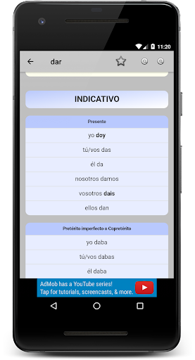 10000 Spanish Verbs screenshot 2
