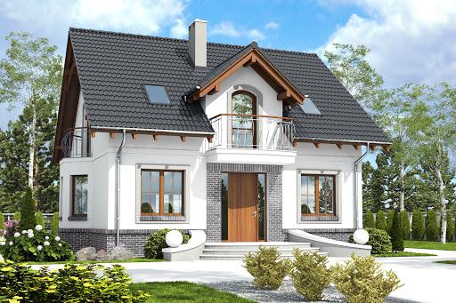 projekt Dom Dla Ciebie 5 bez garażu B