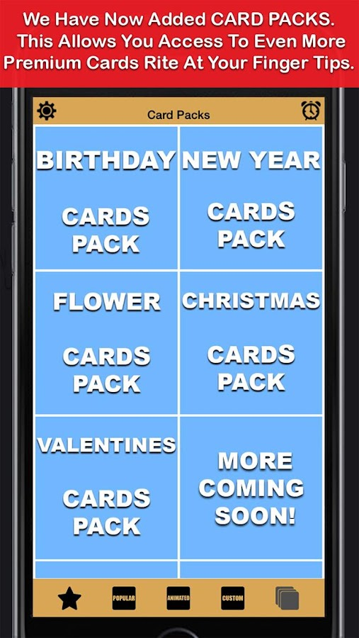 Greeting Cards App - Unlimited- screenshot