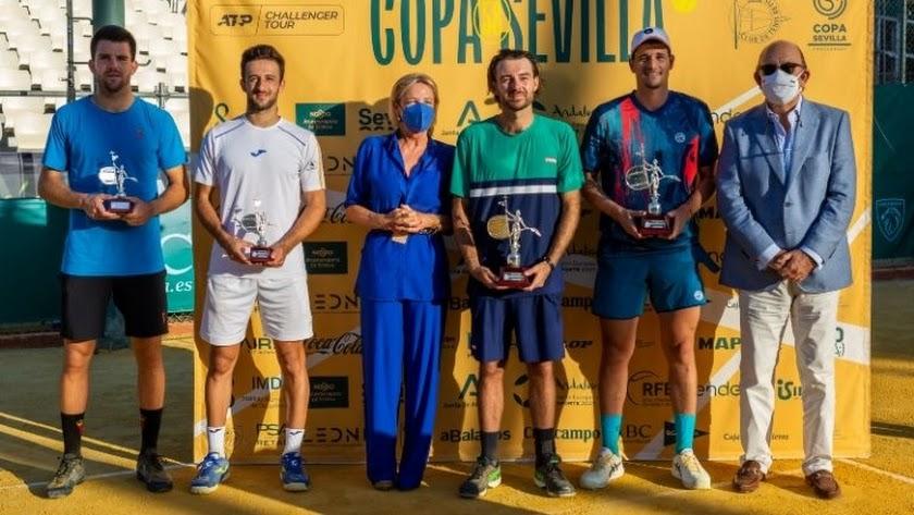 El tenista almeriense Javi Barranco alcanza la final en el Challenger ATP.