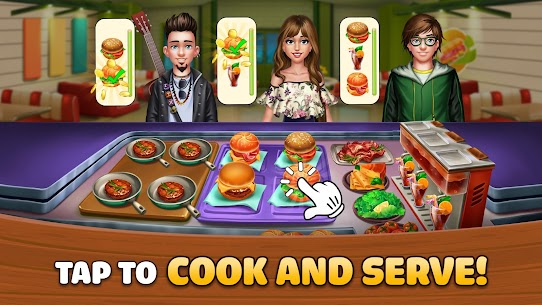 Kitchen Craze: Cooking Games for Free & Food Games App Latest Version Download For Android and iPhone 2
