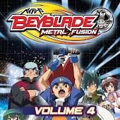 Beyblade: Metal Fusion Volume 4