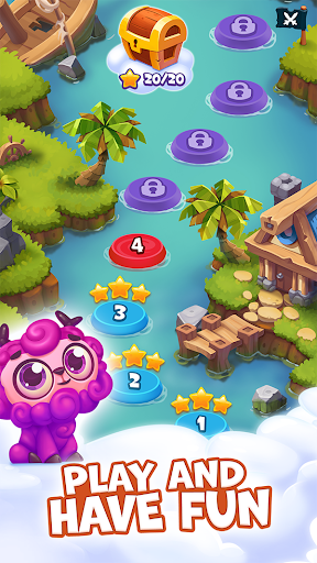 Pirate Treasures - Gems Puzzle 2.0.0.92 screenshots 1