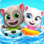 Talking Tom Pool Puzzle Game Icon