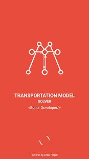 Transportation Model Solver - náhled