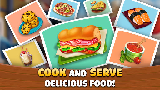 Kitchen Craze: Cooking Games for Free & Food Games screenshots 4