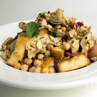 Lidia's Artichoke and Chickpea Salad